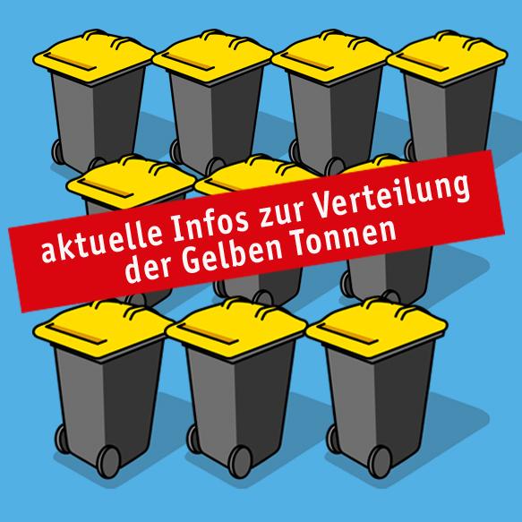 Verteilung Gelbe Tonnen
