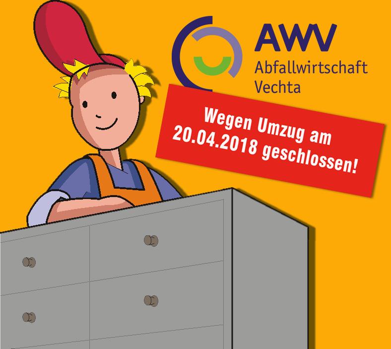 Umzug AWV-Verwaltung
