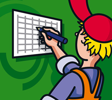 Blocktext Abfuhrkalender
